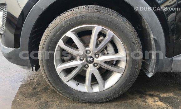 Buy Import Hyundai Santa Fe Black Car in Import - Dubai in Rwanda