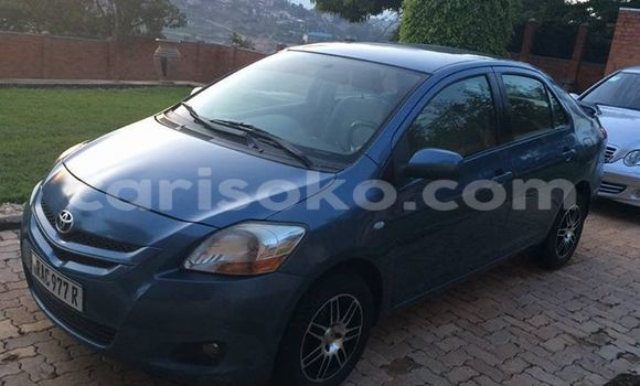Buy Used Toyota Yaris Blue Car in Gicumbi in Rwanda