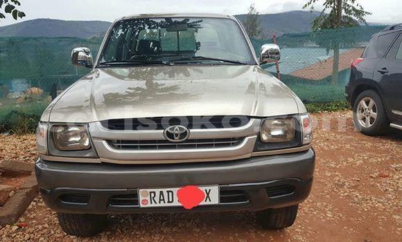 Buy Used Toyota Hilux Beige Car in Kigali in Rwanda