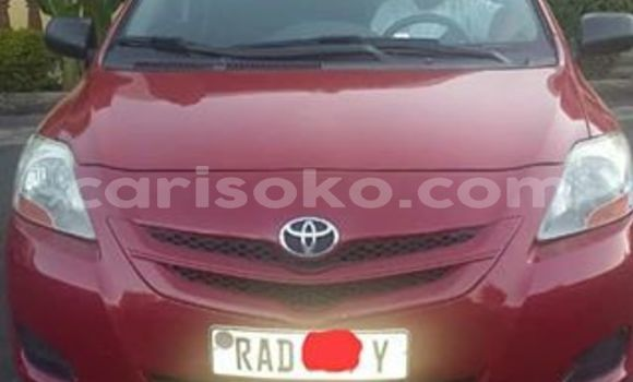 Buy Used Toyota Yaris Red Car in Kigali in Rwanda
