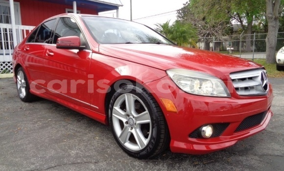 Buy Import Mercedes-Benz C–Class Red Car in Kigali in Rwanda