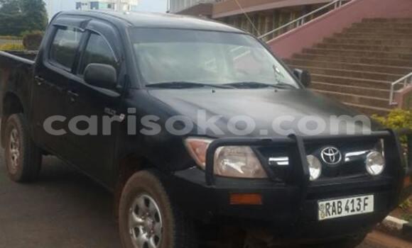 Acheter Occasion Voiture Toyota Hilux Noir à Gicumbi au Rwanda