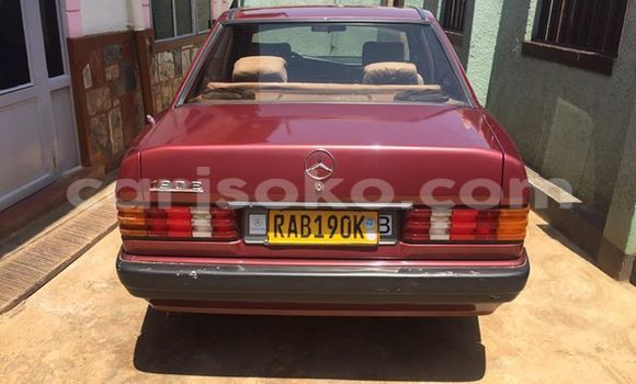 Buy Used Mercedes‒Benz 190 Red Car in Gicumbi in Rwanda