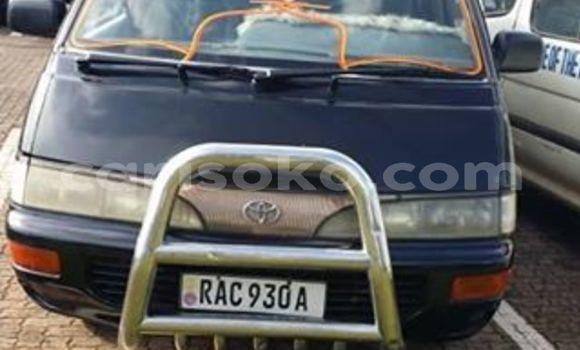 Buy Used Toyota LiteAce Black Car in Kigali in Rwanda