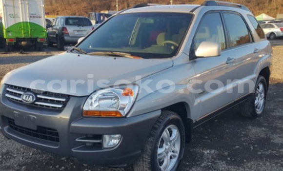 Buy Used Kia Sportage Silver Car in Kigali in Rwanda