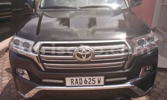 Buy Used Toyota Land Cruiser Black Car in Kigali in Rwanda