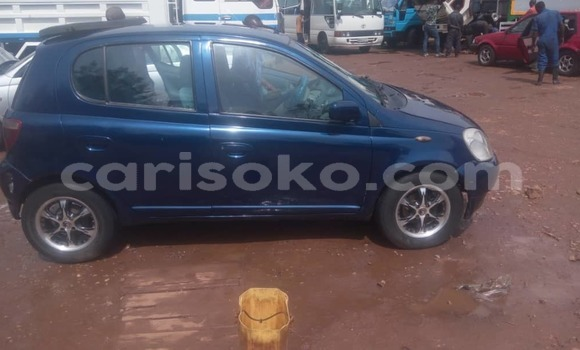 Buy Used Toyota Vitz Blue Car in Kigali in Rwanda