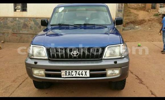 Buy Used Toyota Land Cruiser Blue Car in Kigali in Rwanda