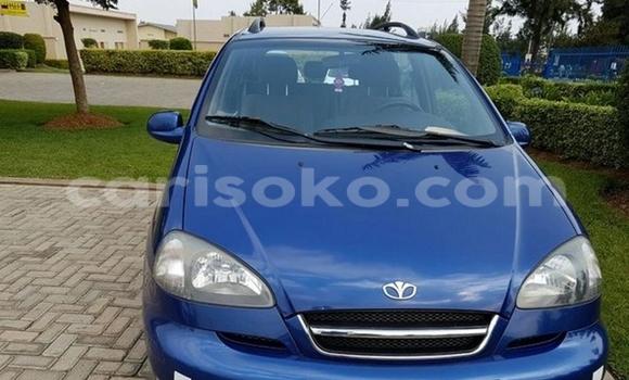 Acheter Occasion Voiture Daewoo Matiz Bleu à Kigali au Rwanda