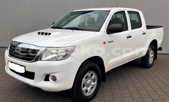 Buy Import Toyota Hilux Surf White Car in Kigali in Rwanda