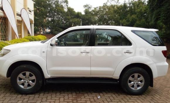 Buy Used Toyota Fortuner White Car in Kigali in Rwanda