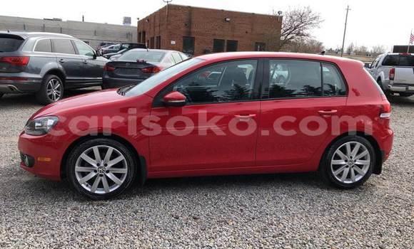 Buy Used Volkswagen Golf Red Car in Kigali in Rwanda
