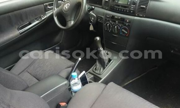 Buy Used Toyota Corolla Silver Car in Gicumbi in Rwanda