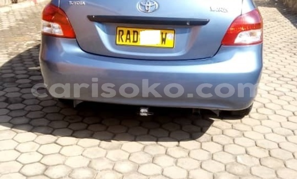 Buy Used Toyota Yaris Blue Car in Musanze in Rwanda