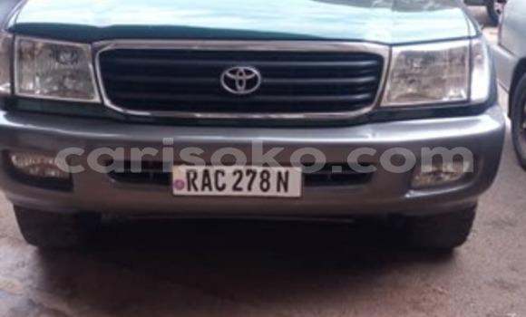Buy Used Toyota Land Cruiser Prado Green Car in Kigali in Rwanda