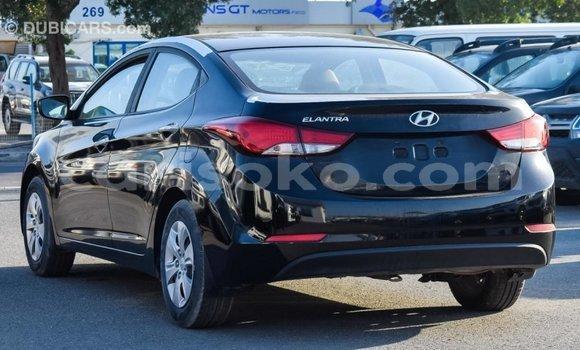 Buy Import Hyundai Elantra Black Car in Import - Dubai in Rwanda