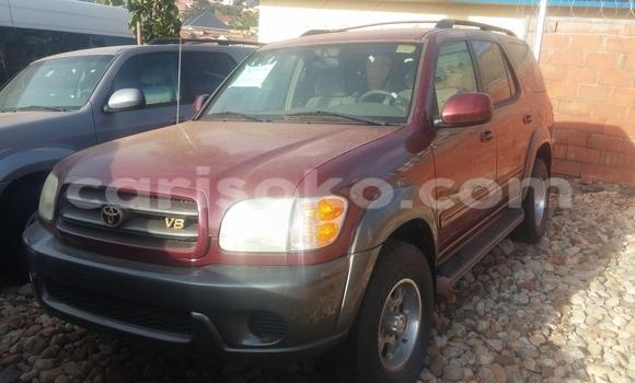 Acheter Occasion Voiture Toyota Sequoia Rouge à Kigali au Rwanda