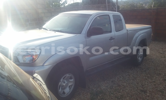 Buy Used Toyota Tacoma Silver Car in Kigali in Rwanda