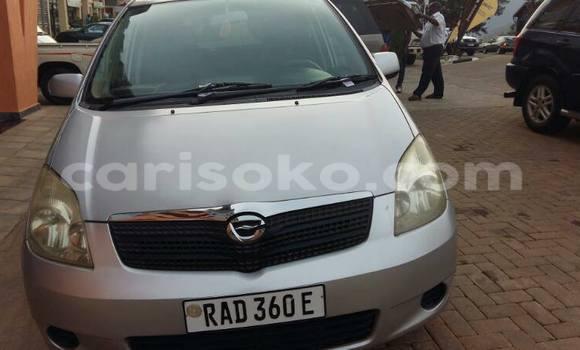 Buy Used Toyota bB Silver Car in Kigali in Rwanda