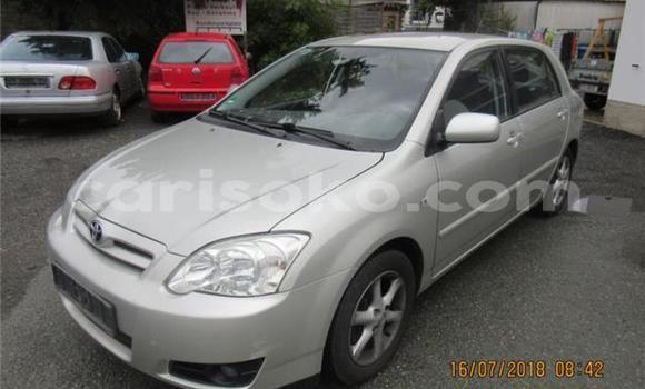 Buy Import Toyota Corolla Silver Car in Kigali in Rwanda
