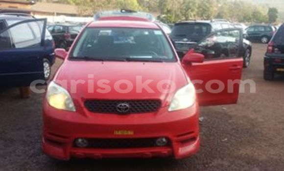 Buy Used Toyota Matrix Red Car in Kigali in Rwanda