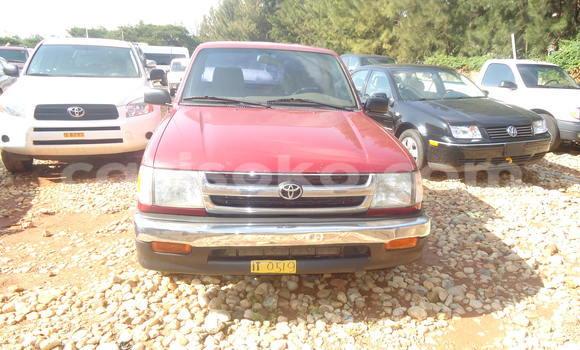 Buy Used Toyota Tacoma Red Car in Kigali in Rwanda
