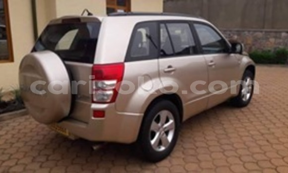 Buy Used Suzuki Grand Vitara Beige Car in Kigali in Rwanda