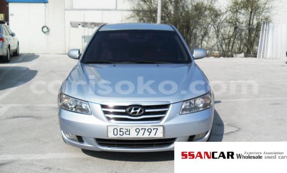 Acheter Occasion Voiture Hyundai Sonata Gris à Kigali au Rwanda