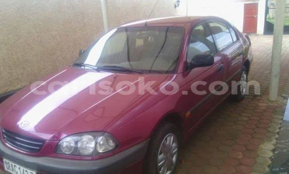 Buy Used Toyota Avensis Red Car in Gicumbi in Rwanda