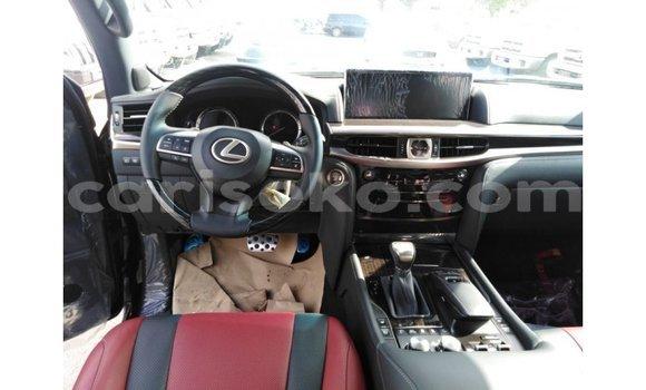 Gura Imported Lexus LX Black Imodoka i Import - Dubai mu Rwanda