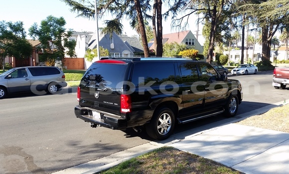 Buy New Cadillac Escalade Black Car in Gicumbi in Rwanda