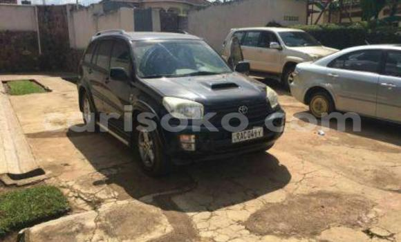 Gura Yakoze Toyota RAV4 Black Imodoka i Kigali mu Rwanda