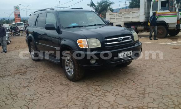 Buy Used Toyota Sequoia Black Car in Kigali in Rwanda