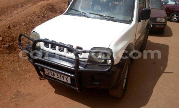 Acheter Occasion Voiture Suzuki Jimny Blanc à Kigali au Rwanda