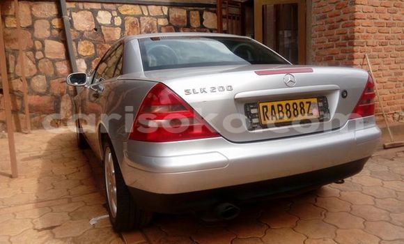 Buy Used Mercedes-Benz CLK–Class Silver Car in Kigali in Rwanda
