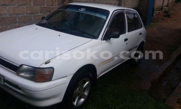 Buy Used Toyota Starlet White Car in Kigali in Rwanda