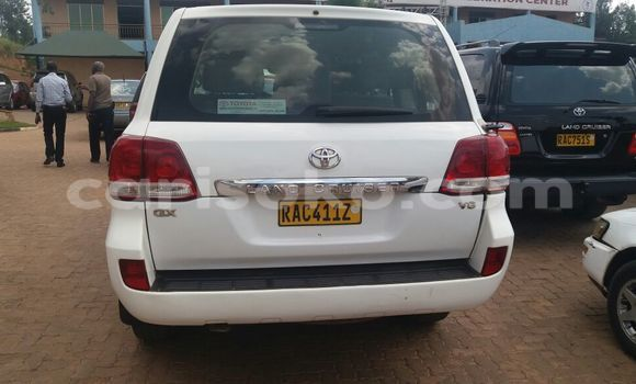 Buy New Toyota Land Cruiser White Car in Kigali in Rwanda
