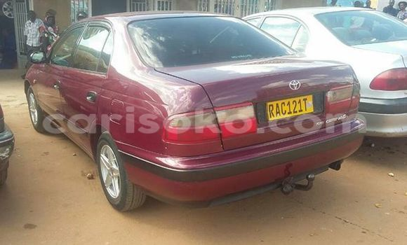 Buy Used Toyota Carina Red Car in Gicumbi in Rwanda
