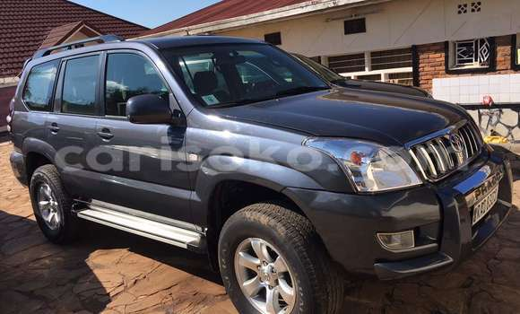 Buy Used Toyota Land Cruiser Prado Black Car in Kigali in Rwanda