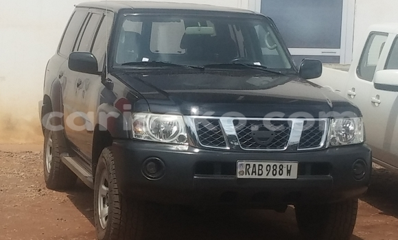 Buy Used Nissan Patrol Black Car in Kigali in Rwanda