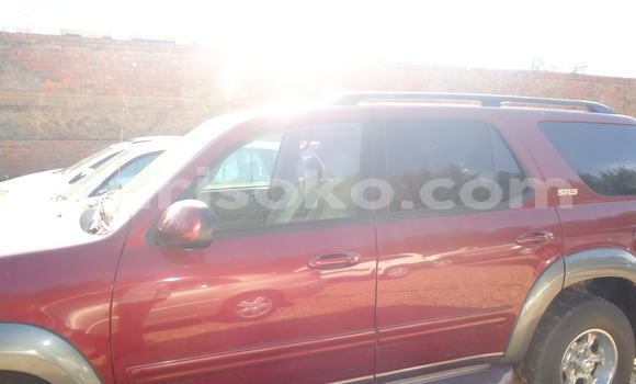 Buy Used Toyota Sequoia Red Car in Kigali in Rwanda