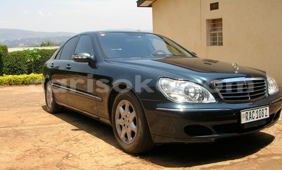 Buy Used Mercedes‒Benz S–Class Blue Car in Kigali in Rwanda