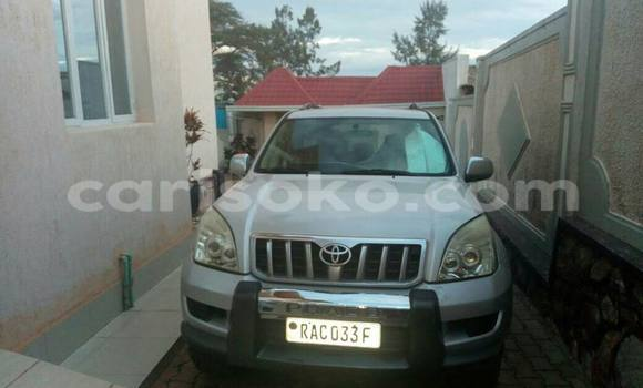 Buy Used Toyota Prado Silver Car in Gicumbi in Rwanda