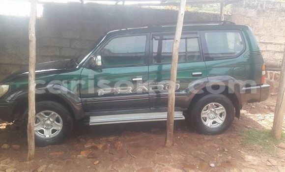 Buy Used Toyota Land Cruiser Green Car in Gicumbi in Rwanda