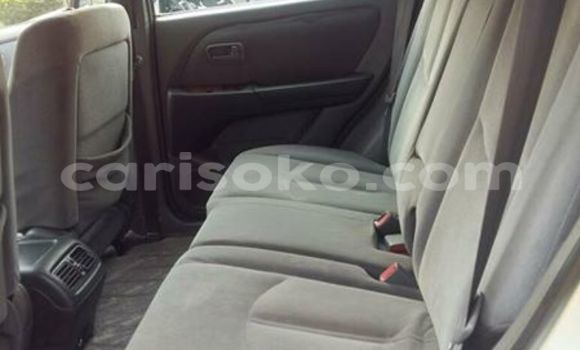 Buy Used Toyota Harrier Silver Car in Gicumbi in Rwanda