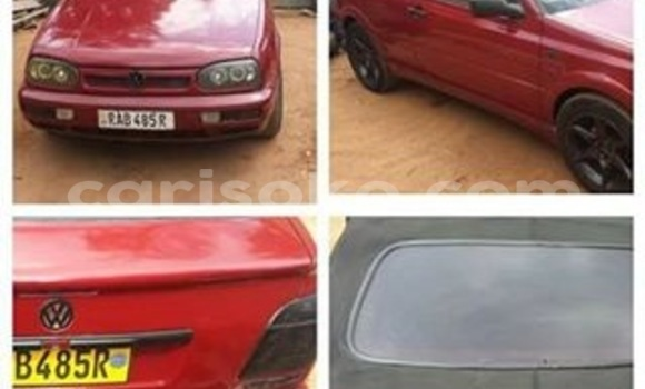 Buy Used Volkswagen Golf Red Car in Gicumbi in Rwanda