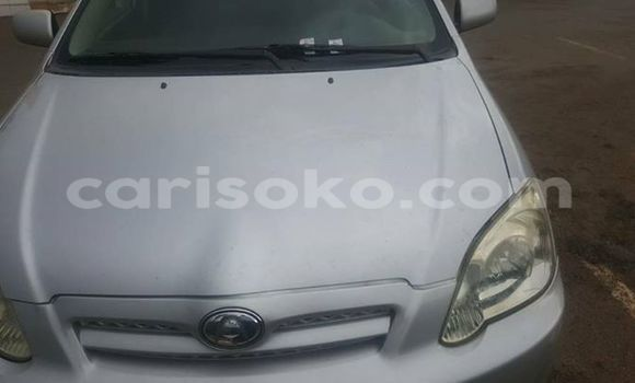 Buy Used Toyota Allex Silver Car in Gicumbi in Rwanda