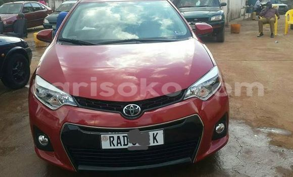 Buy Used Toyota Corolla Red Car in Gicumbi in Rwanda