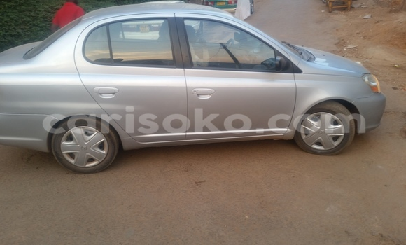 Buy Used Toyota Echo Silver Car in Kigali in Rwanda