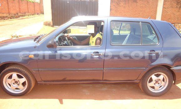 Buy Used Volkswagen Golf Blue Car in Kigali in Rwanda